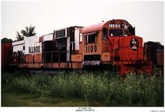 IC C636 1100 (Robert W. Thomson) Tags: railroad century train ic diesel tennessee railway trains jackson locomotive trainengine icg alco illinoiscentral illinoiscentralgulf sixaxle c636