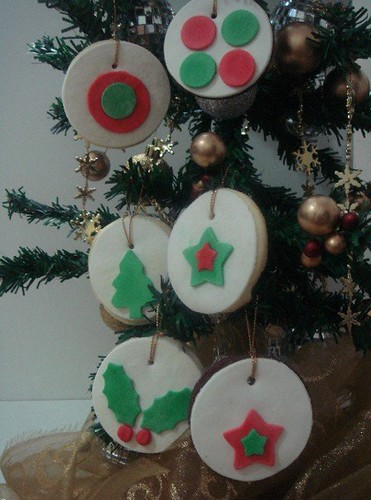 christmas couture cookies