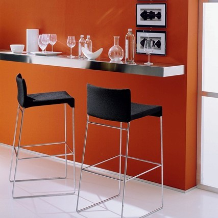 Modern Kitchen Bar Stools new kitchen design called rounded modern kitchen with single bar stool