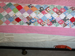 Old Quilt, New Mattress Side
