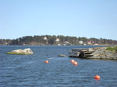Sweden-Vaxholm-Bouys (kurtfeddy) Tags: sweden sverige vaxholm waxholm