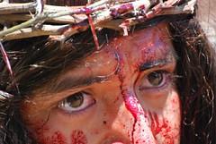 Jesus' face