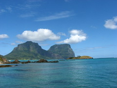 Mt Lidgbird and Mt Gower (sbittinger) Tags: lordhoweisland