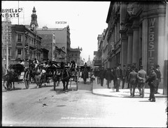 George Street, Sydney, Looking South from Margaret Street