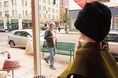 Mannequin (NateJPhotography) Tags: stranger street paths meeting gawker curiousity wonder world pane glass