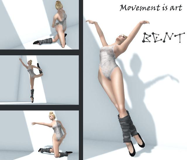 Bent! Movement is art