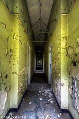 Corridor- Nocton Hospital (Malcolm Hunt2011) Tags: abandoned nikon hdr 1424 d3s noctonhospital
