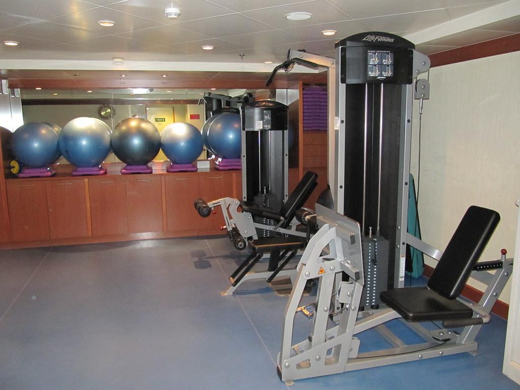 Fitness Centre on Silver Whisper