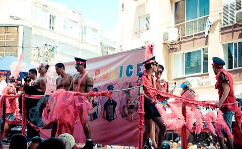 13-ый юбилейный и самый массовый гей-парад в истории Израиля (первый в моей
