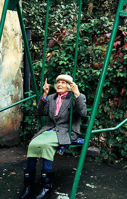 war veteran (Galina, 82)