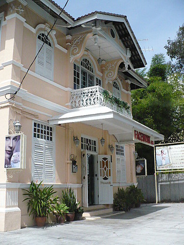Ornate building in Penang