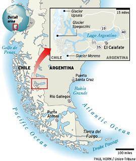 Patagonia Glaciers por docsplatter.