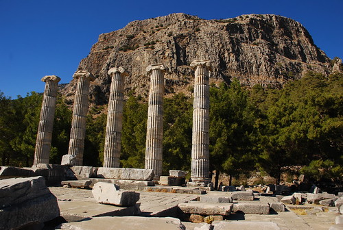 the ruins of Priene