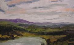 Mudge pond, looking north