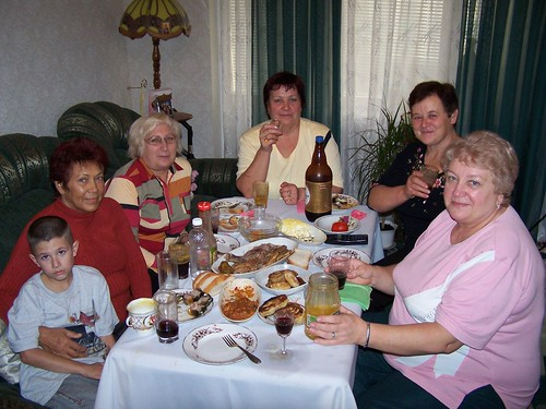Lunch at Babushka Olya's