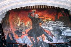 Mural in Morelia
