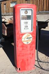 Old Gilmore Gas Pump
