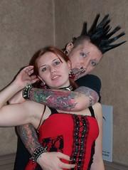 Exotica Expo II Detroit 2007 (Wigwam Jones) Tags: tattoo punk erotic detroit lifestyle bondage tribal masquerade alternative exotica sadism masochism
