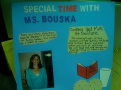 Special time with Ms. Bouska