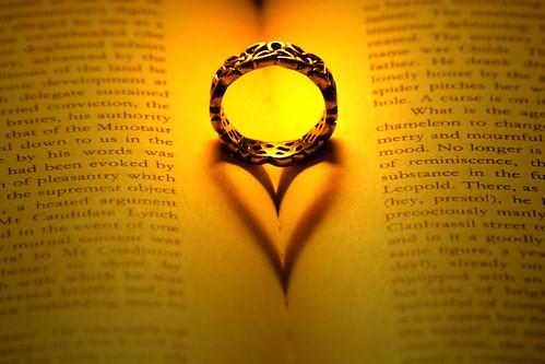Thumb La foto del anillo con sombra de corazón