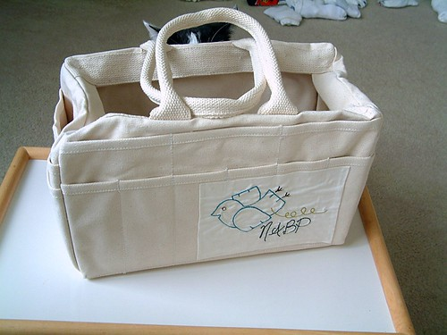 Freckled Nest Tote