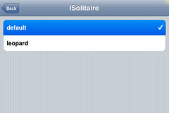 iSolitaire Update 0.5