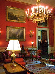 Red Room (White House) (catface3) Tags: red people art lamp washingtondc dc queenanne whitehouse paintings chandelier sconce redroom architecturalinterior holidaytour upolstery catface3