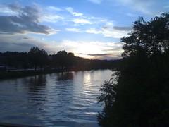 Sunrise Bad Cannstatt Neckar (nana.zazou) Tags: wasser sonnenuntergang stuttgart tag sonne neckar romantisch cotcbestof2006