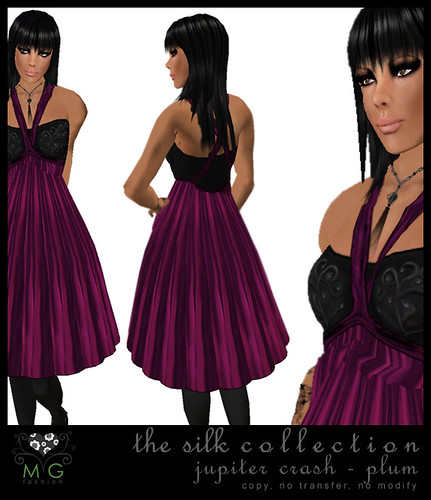 [MG fashion] The Silk Collection - Jupiter Crash (plum)