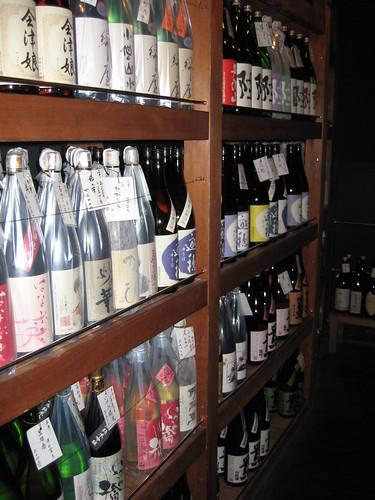 Yamanaka Sake-no-mise storage room