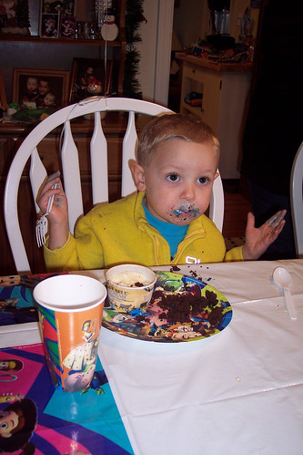 What? Can't I just eat my cake?
