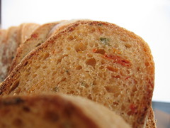 Country-Style Hearth Loaf with Sundried Tomatoes and Oregano