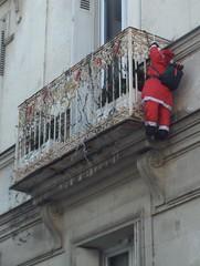 Père Noël cambrioleur