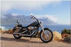 My bike at Rooi Els Coastal Road