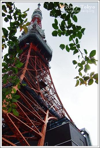 [2007東京見]Day5~ 散步。東京鐵塔