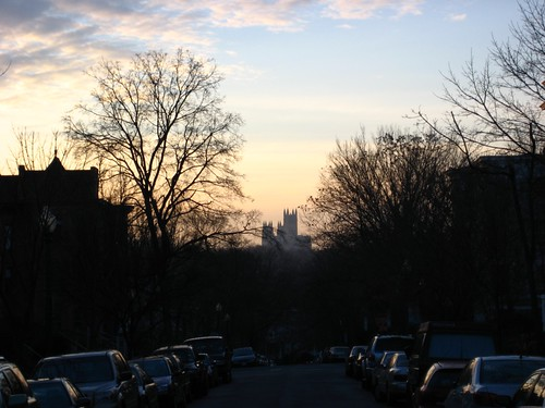 National Cathedral view from Kilbourne Place