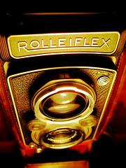 Vintage Rolleiflex Automat X (khai_nomore) Tags: old 120 6x6 tlr vintage orton digitalshot rolleiflexautomatx fujiv10