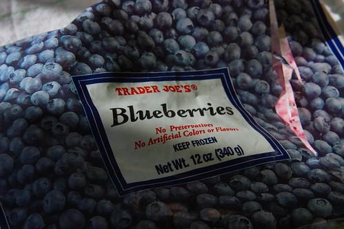 i used frozen TJs blueberries