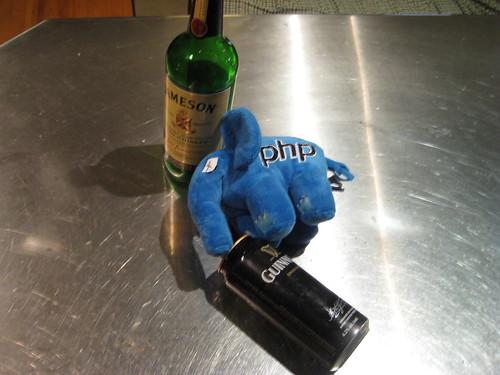 ElePHPant después del bar