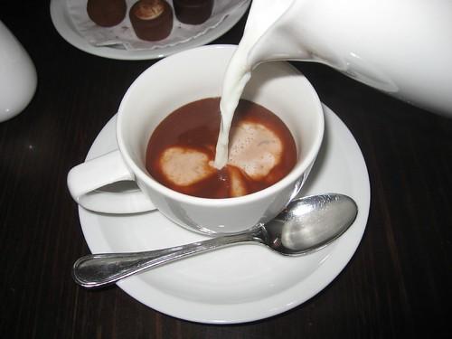 Best Hot Chocolate (@ Lindt Cafe)