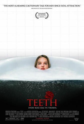 Póster, trailer y cinco minutos de 'Teeth', el ataque de la vagina dentada