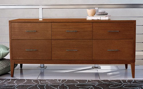 Narrow-Leg 6-Drawer Dresser from West Elm