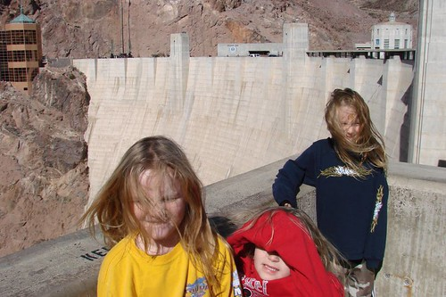 Some serious wind on Hoover Dam