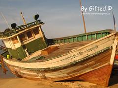 Barco Abandonado (Francisco (Gifted)) Tags: barco gifted abandonado cameradeourobrasil