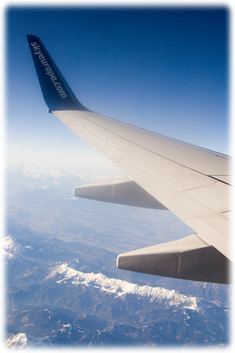 SkyEurope Plane