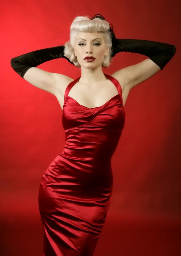 jessica white. pinup clothing