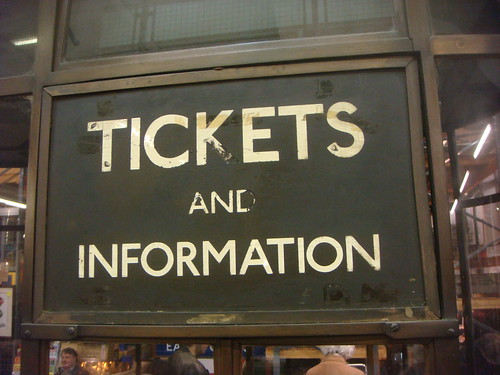 tickets and information
