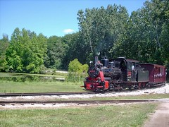 German steam in Indiana. The Hesston Steam Museum. Hesston Indiana. July 2007.