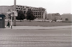 Potsdamer Platz, West/East Berlin, c. 31 July 1960 (allhails) Tags: berlin germany deutschland postoffice ddr eastberlin postamt postdamerplatz ey28