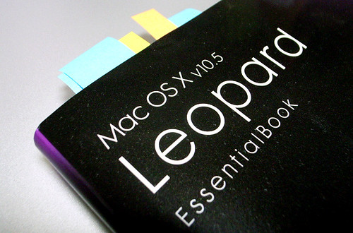 Mac OS X v10.5 Leopard Essential Book